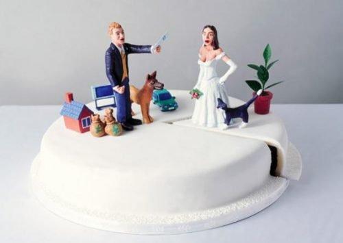 Заявление о разделе имущества супругов