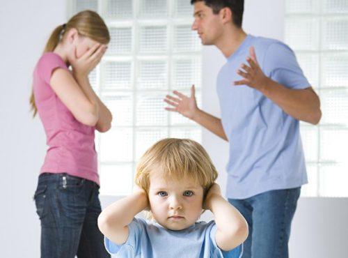 Право на ребёнка при разводе