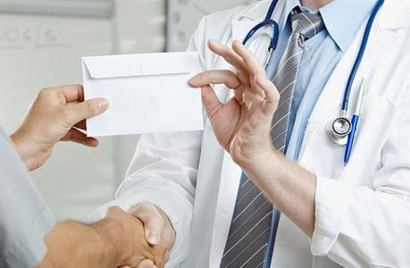 Вымогательство врачи