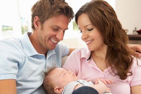 Денег за первого ребенка